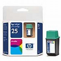 #25 HP Color Ink Cartridge (51625A)