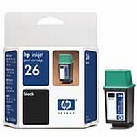 #26 HP Black Ink Cartridge (51626A)
